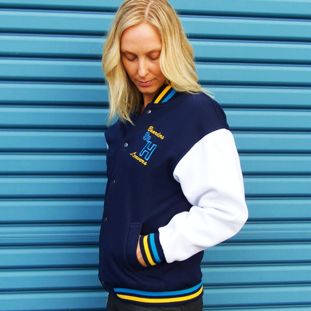 varsity leavers jacket